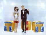 Новогодняя заставка 2016: Наталия Медведева и Павел Воля